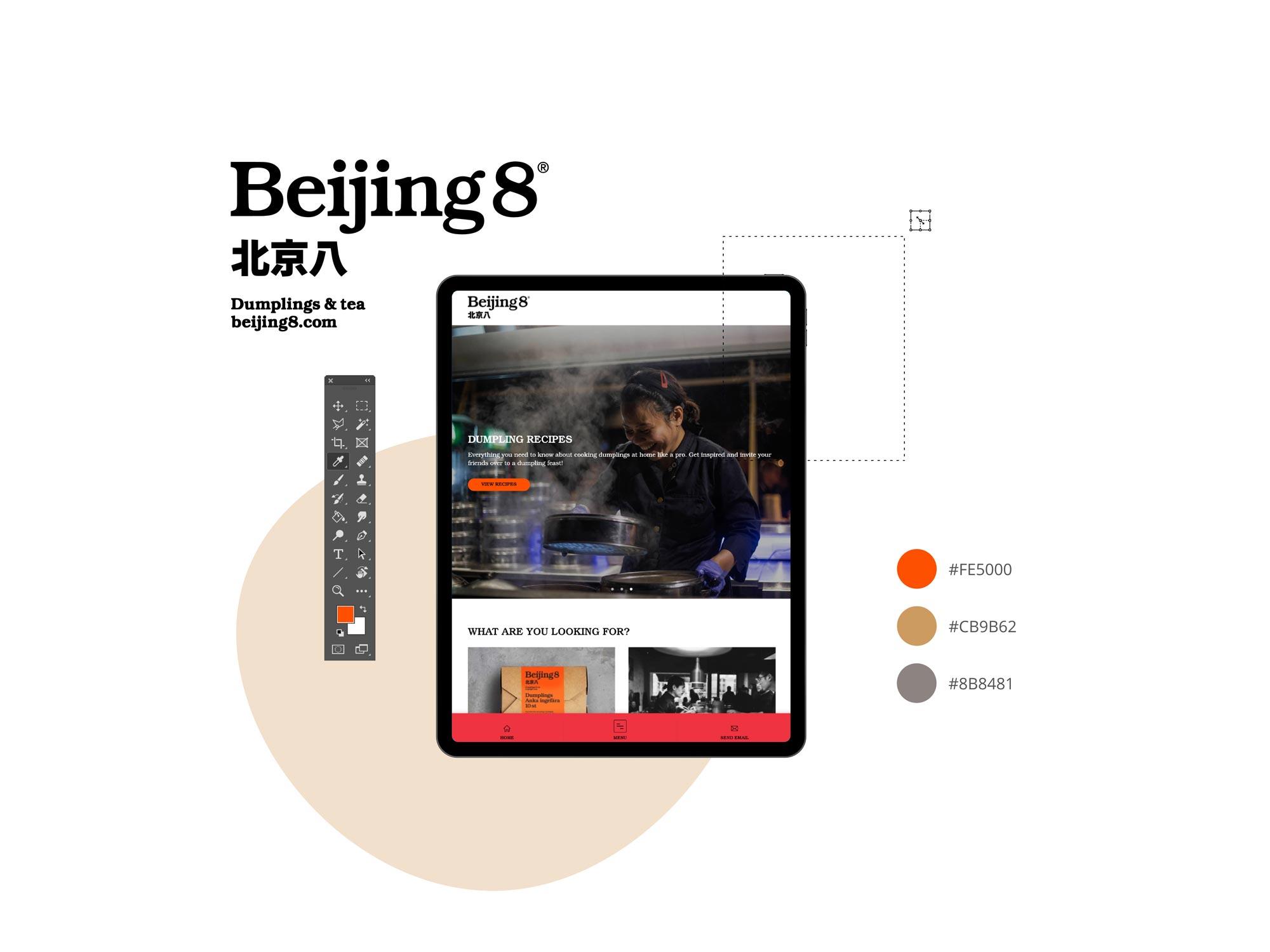 tcr. web design portfolio, Beijing8
